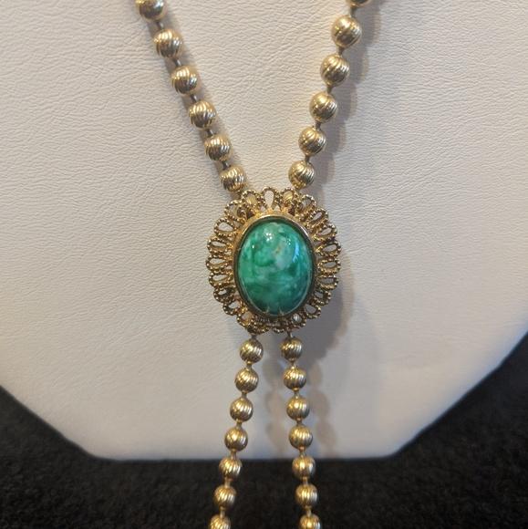 💚Lariat style vintage Avon necklace